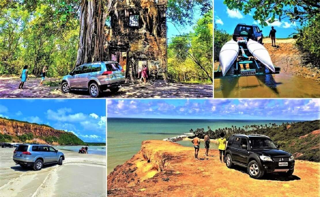 Jeep and buggy tour in Joao Pessoa
