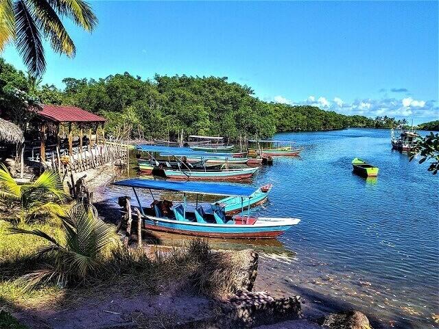 Embarque no rio Camurupim