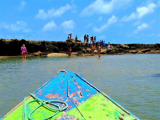 APA da Barra de Mamanguape: barreira de arrecifes
