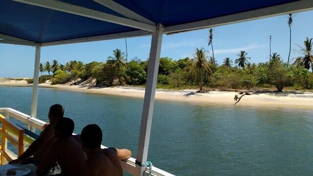 Barra do Cunhaú: boat trip