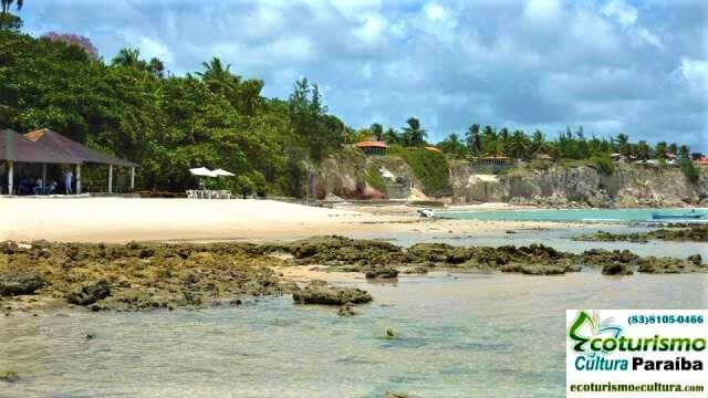 Vista da praia de Carapibus (praias da Paraiba)