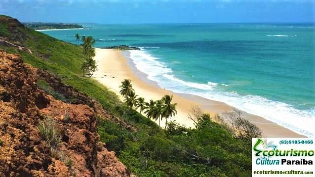 Dedo de Deus: vista da praia