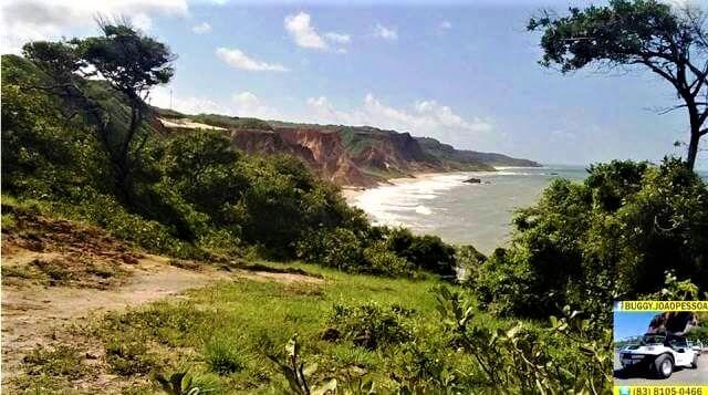 Falésias da Area de Proteção Ambiantal de Tambaba