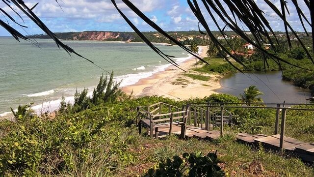 Beach of Tabatinga - Viewpoint