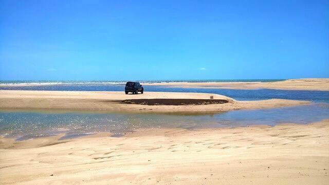 No meio das águas - Barra do Abiai