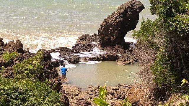 As piscinas naturais de Tambaba