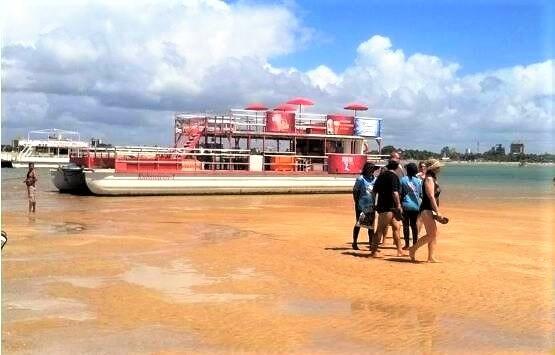 Tour Areia Vermelha: Tour to Areia Vermelha in João Pessoa